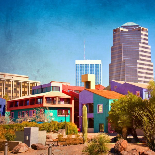 Colorful Downtown Tucson