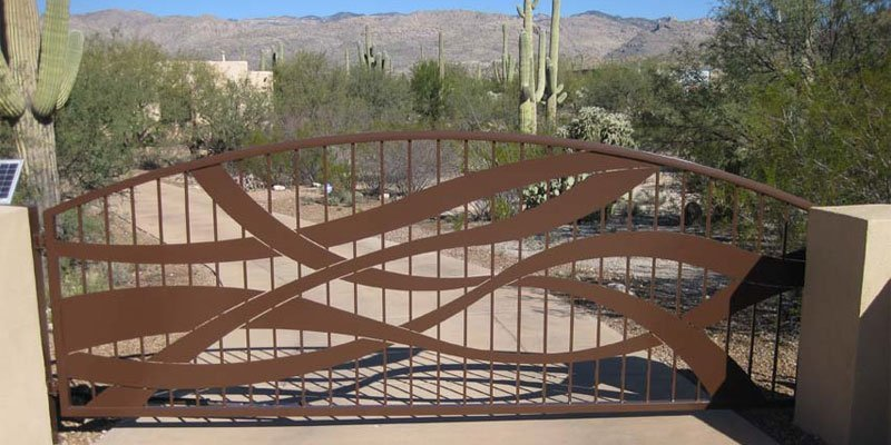 Entry Gate at a Tucson gated community